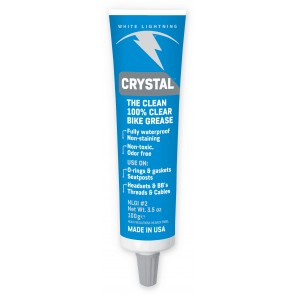 White Lightning Crystal Clear Grease 100g