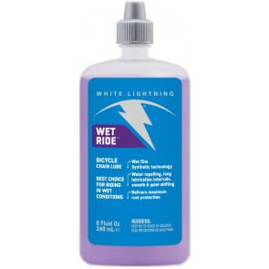 White Lightning Wet Ride Squeeze Bottle 240ml