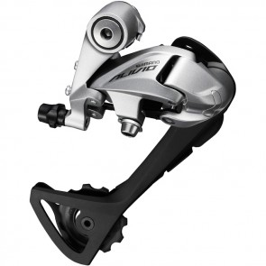 Shimano RD-T4000 Alivio 9-speed rear derailleur/SGS/top normal/silver