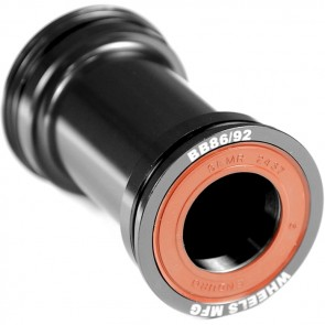 Wheels Manufacturing PressFit 86 / 92 Bottom Bracket - Shimano Compatible - black
