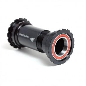 Wheels Manufacturing PressFit 30 Threaded Angular Contact bottom bracket - Black