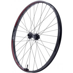 "Zipp 3Zero Moto 27.5"" Front Wheel Silver/Red"